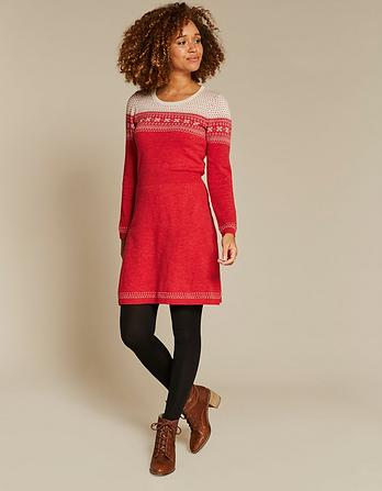 Emma Fairisle Knit Dress