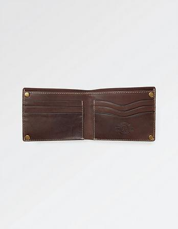 Rory Rivet Leather Wallet