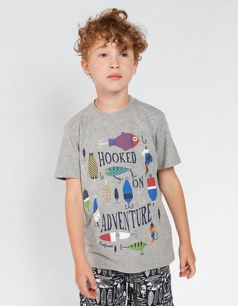 Hooked on Adventure T-Shirt