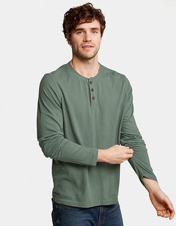 Lowick Hemp Henley T-Shirt