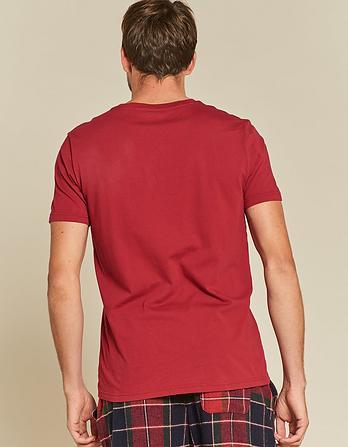 Moose Organic Cotton Graphic T-Shirt