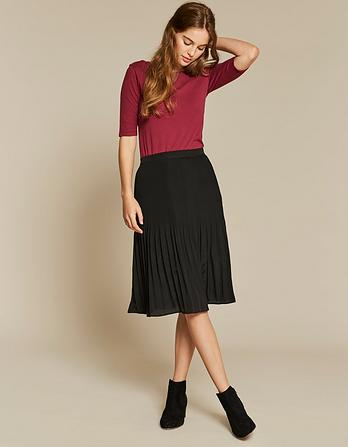 Maria Pleated Skirt