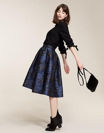 Damask Jacquard Skirt