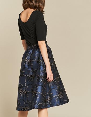 Damask Jacquard Skirt