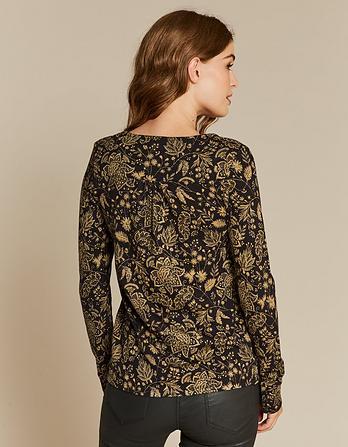 Lyall Crochet Floral Top