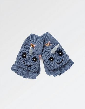 Nancy Narwhal Mittens