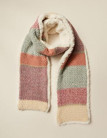 Layla Knitted Scarf