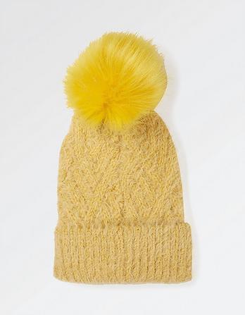 Anna Plain Knit Beanie