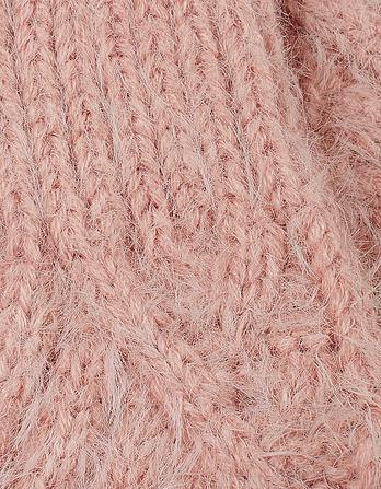 Anna Plain Knit Mittens