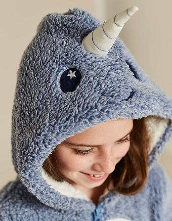 Nancy Narwhal Fleece Onesie