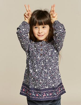 Lucy Woodland Geo Blouse