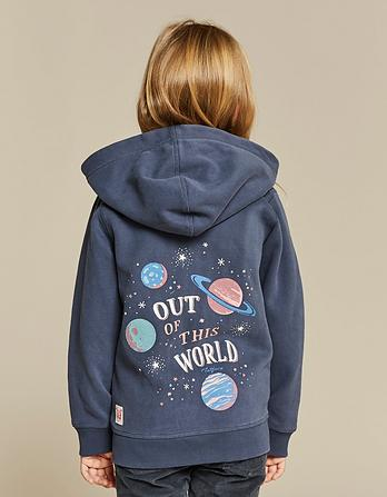 Out of This World Zip Thru Hoody