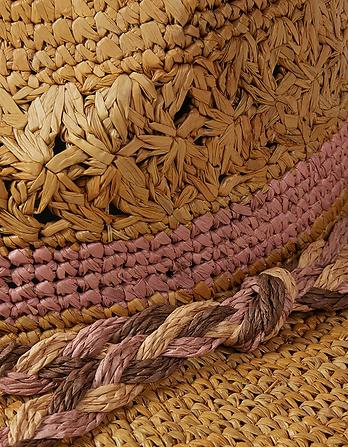 Plaited Band Straw Hat