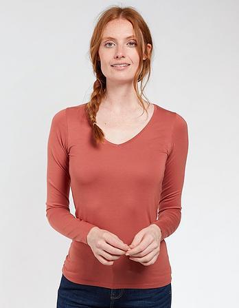 Cassie V-Neck T-Shirt