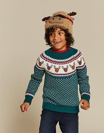 Milo Moose Fairisle Sweater