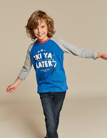 Ski Ya Later Graphic T-Shirt