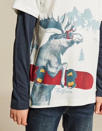 Milo Moose Graphic T-Shirt