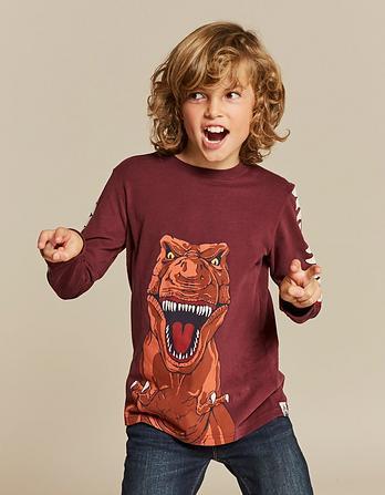 Dino Teeth Graphic T-Shirt