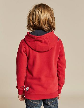 Ski Pass Graphic Popover Hoody