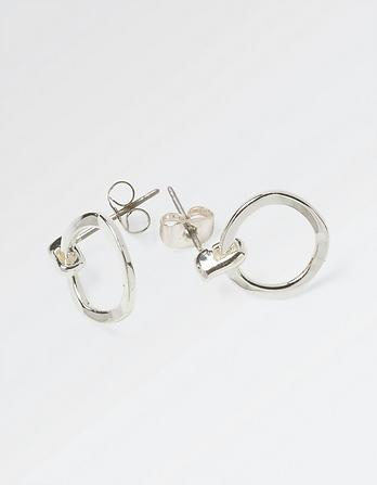 Ring Stud Earrings