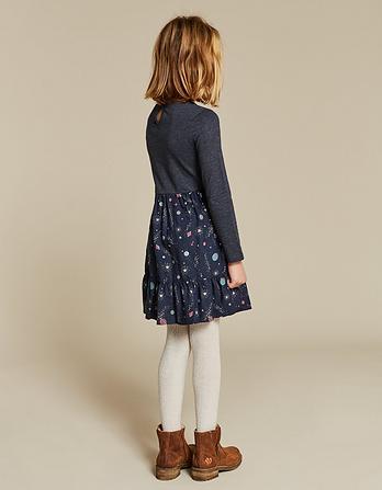 Space Print Dress