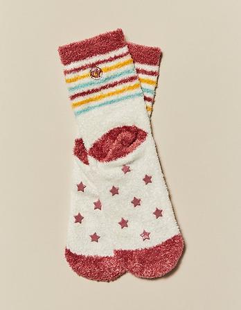 Elsie Emu Fluffy Socks