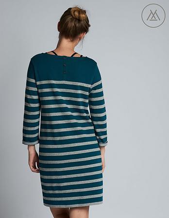 Athleisure Tenby Stripe Dress