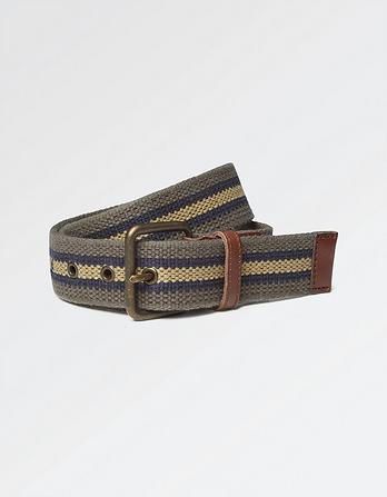 Jacob Woven Stripe Belt