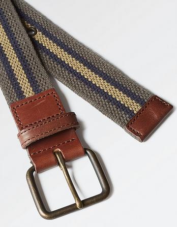 Jacob Woven Stripe Belt