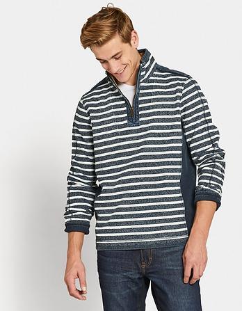 Airlie Jaspe Stripe Sweatshirt