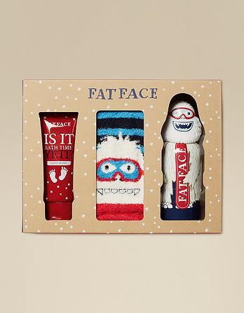 Socks and Bath Time Gift Set