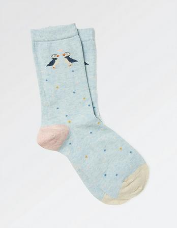 One Pack Puffin Socks