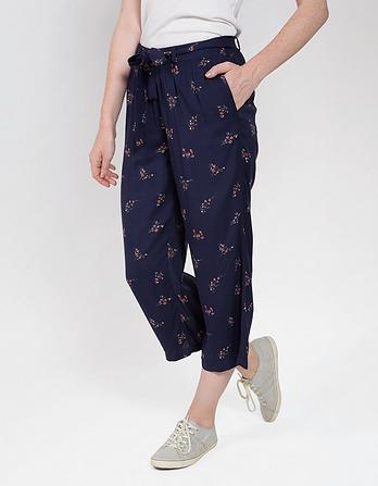 Blossom Ditsy Wide Leg Crops