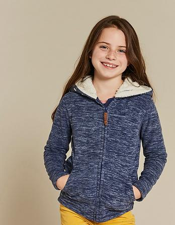 Millie Microfleece Zip Thru Hoody
