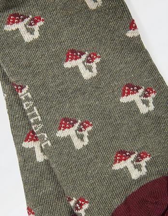 One Pack Toadstool Socks