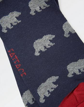 One Pack Bear Socks