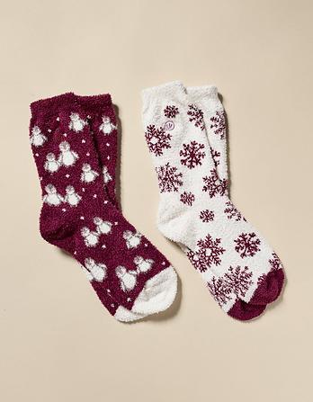 Two Pack Penguin Fluvia Socks