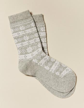 Fairisle Cashmere Socks