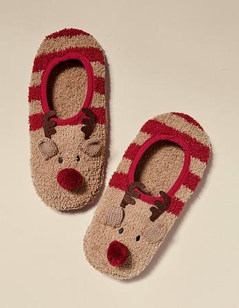 Reindeer Cozy Footsies