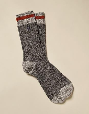 Twisted Wool Boot Socks