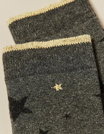 Star Welly Socks