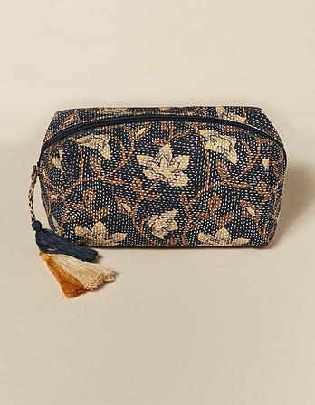Stitch Work Cosmetic Bag