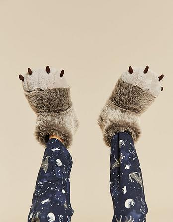 Wolf Claw Foot Slippers