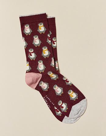 One Pack Penguin Socks