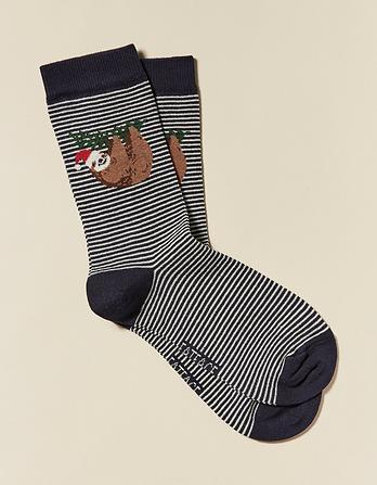 One Pack Sloth Socks