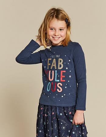 Fab-Yule-Ous Graphic T-Shirt