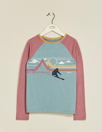 Retro Ski Graphic T-Shirt
