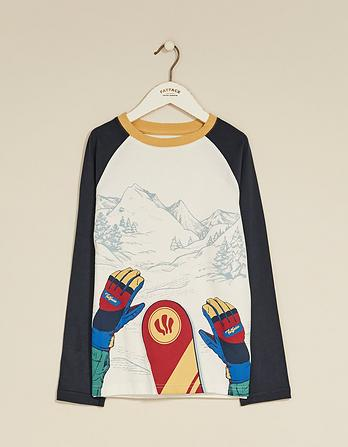 Snowboard Graphic T-Shirt