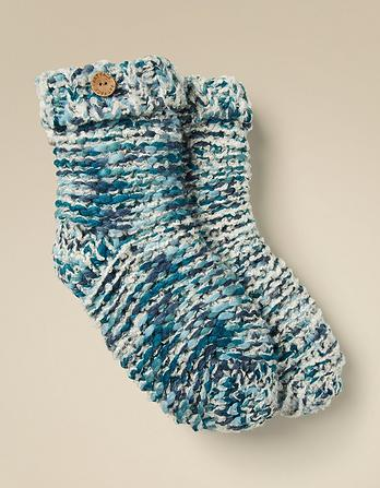 Multi Knit Bed Socks