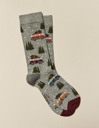 One Pack Winter Camper Socks